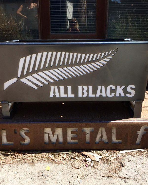 All Blacks Fire Pit