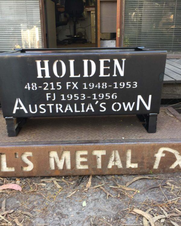 Holden Australia's Own Fire Pit