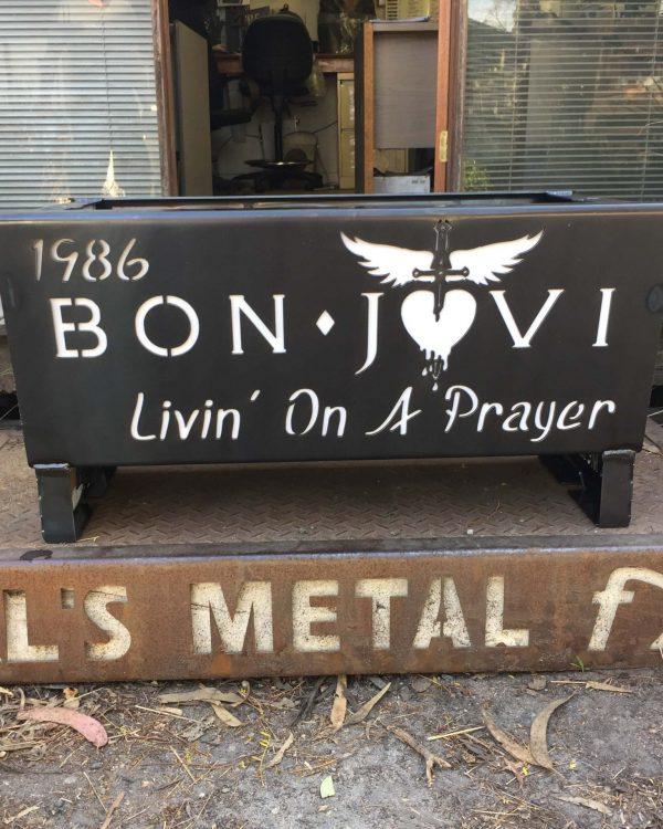 Bon Jovi Fire Pit