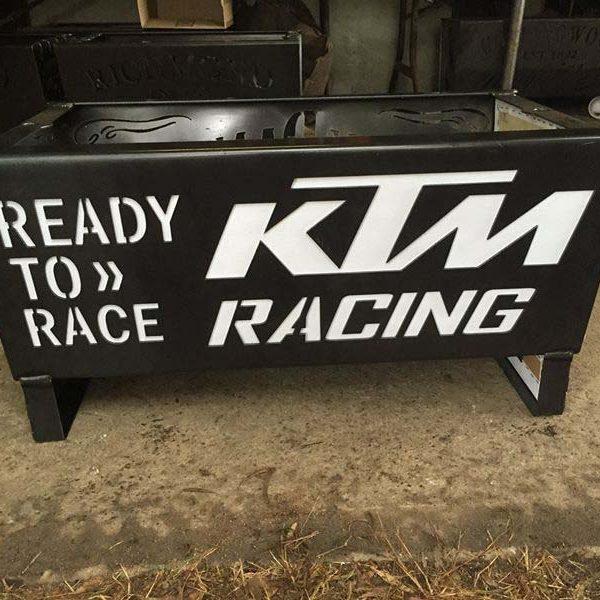 KTM Racing Fire Pit
