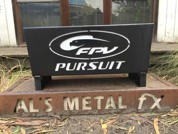 Ford Performance Vehicle FPV Pursuit Fire Pit
