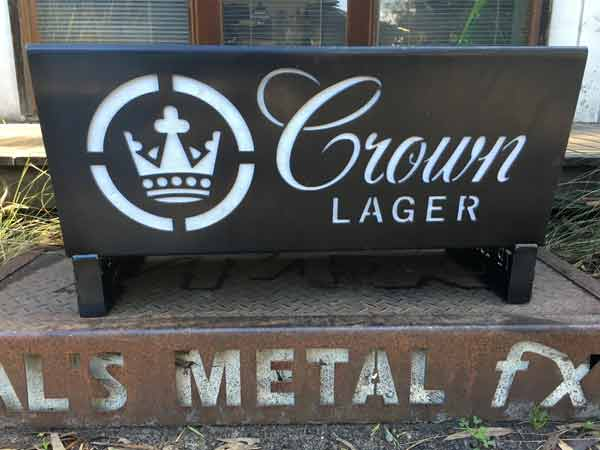 Crown Lager Fire Pit