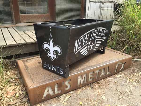 New Orleans Saints Fire Pit