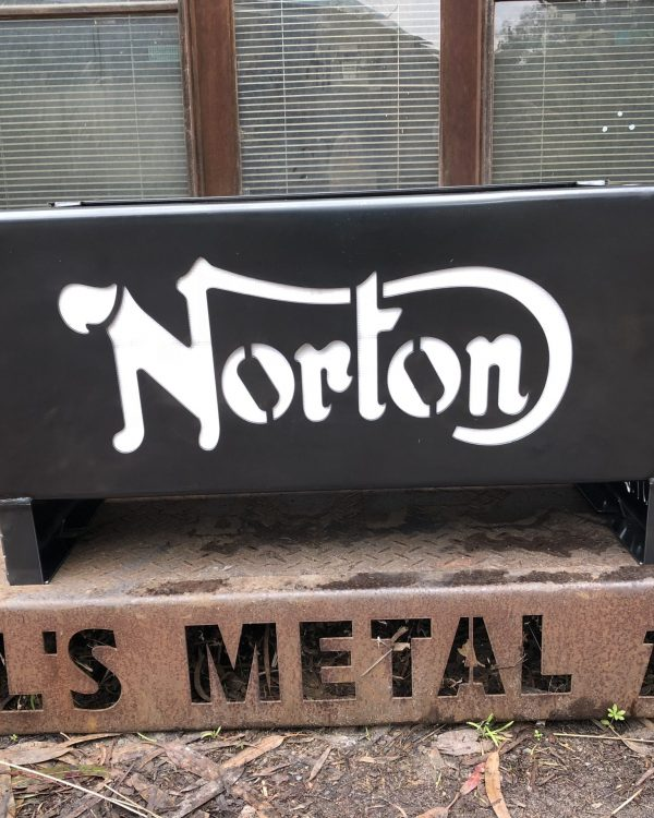 Norton Motorcycles Fire Pit