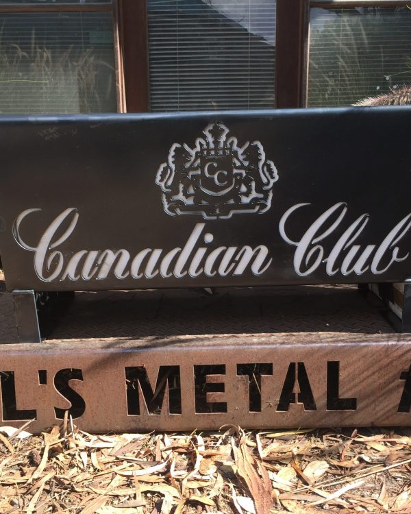 Canadian Club Fire Pit