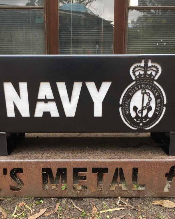 Australian Navy Fire Pit