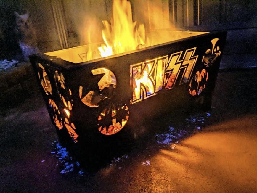 KISS Fire Pit