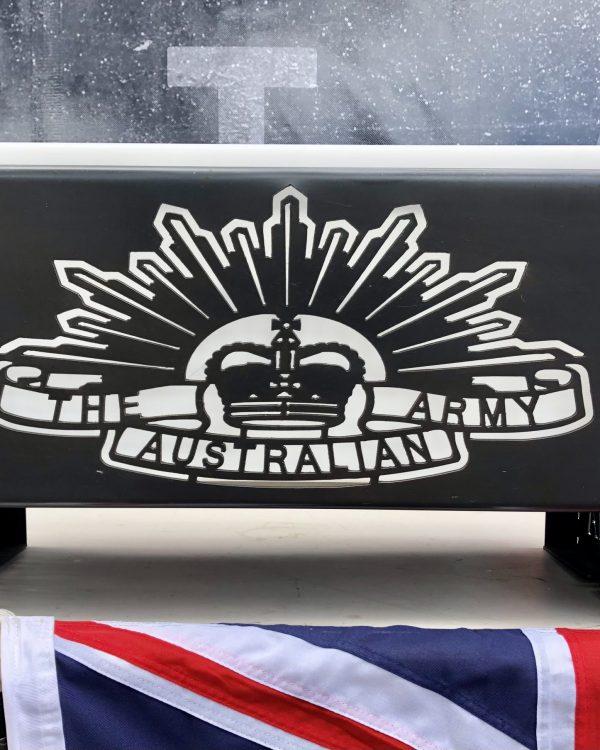 ANZAC Australian Army Fire Pit